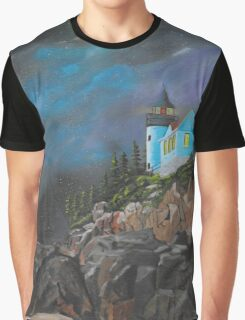 Bass Harbour Graphic T-Shirt