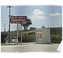 Original In-n-out Location Poster