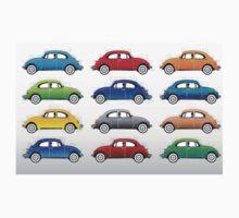 VW beetles  Kids Tee