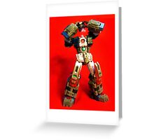 Heads will ROLL OUT! Greeting Card