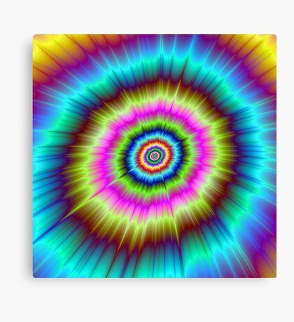 Tie Dye Explosion Canvas Print