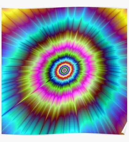 Tie Dye Explosion Poster