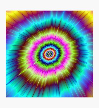 Tie Dye Explosion Photographic Print