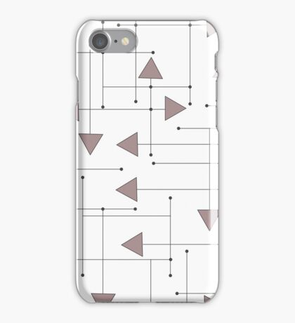 Lines & Arrows iPhone Case/Skin