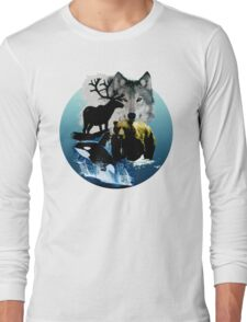 Alaska Wildlife Long Sleeve T-Shirt