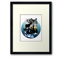 Alaska Wildlife Framed Print