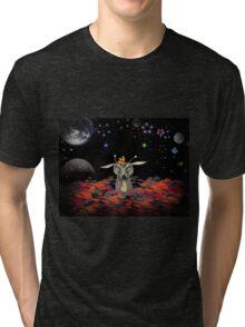The Martian Dragon Tri-blend T-Shirt