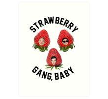 Strawberry Gang: Squad Art Print