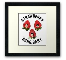 Strawberry Gang: Squad Framed Print