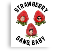 Strawberry Gang: Squad Canvas Print