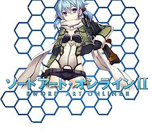 SAO 2 Sinon shirt! by Steelgear24