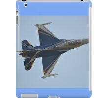 Belgian Air Force F-16 Fighting Falcon iPad Case/Skin