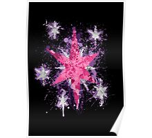 Twilight Sparkle CM Splatter Poster