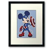 Captain Mickey Framed Print