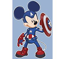 Captain Mickey Photographic Print