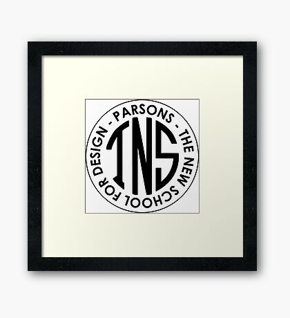 Parsons The New School for Design Student Apparel Framed Print