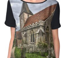 Holy Trinity Church Bosham Chiffon Top