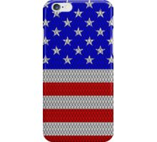 Metal Effect Stars and Stripes Cases iPhone Case/Skin