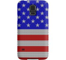 Metal Effect Stars and Stripes Cases Samsung Galaxy Case/Skin
