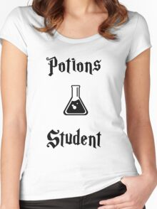Potions Student- Hogwarts Core Classes Women's Fitted Scoop T-Shirt