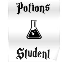Potions Student- Hogwarts Core Classes Poster
