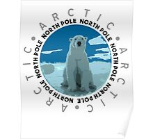 North Pole, The Arctic Poster