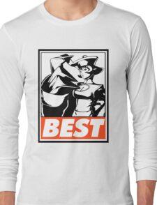 Hsien-Ko Best Obey Design Long Sleeve T-Shirt