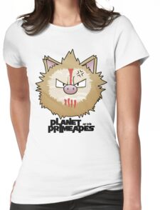 Planet of the Primeapes Womens Fitted T-Shirt