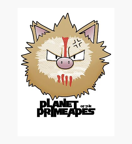Planet of the Primeapes Photographic Print