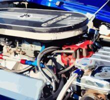 Cobra engine Sticker