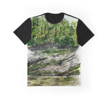 Tennessee Swimming Hole Graphic T-Shirt