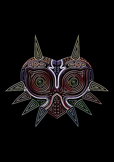Ornate Majora's Mask by Colossal