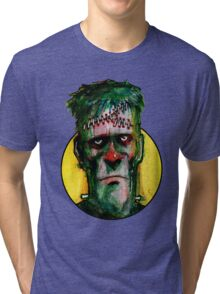 Frankensteins Monster is tired Tri-blend T-Shirt