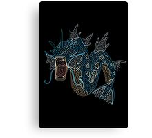 Ornate Gyarados Canvas Print