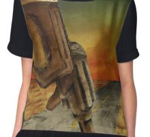 No Country For Old Men Chiffon Top