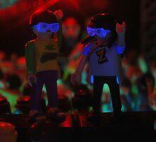 Dancing on speakers by genxatplay