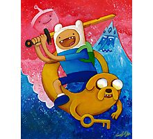 Adventure Time Finn & Jake Photographic Print