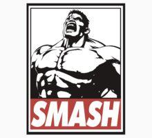 Hulk Smash Obey Design Kids Clothes