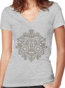 Warrior Women's Fitted V-Neck T-Shirt