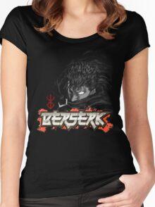 Berserk - Guts Glowin Eye Large Women's Fitted Scoop T-Shirt