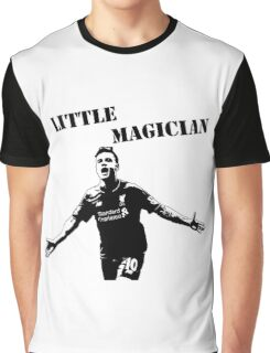 Coutinho - Little Magician - Liverpool Graphic T-Shirt