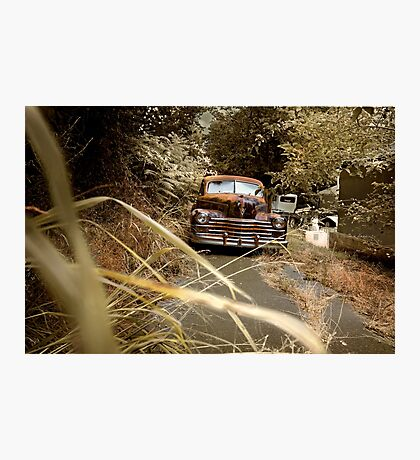 Abandoned 1948 Cadillac Limo Photographic Print