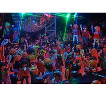 Crowd dancing pt 2 Photographic Print