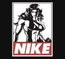 She-Hulk Nike Obey Design T-Shirt