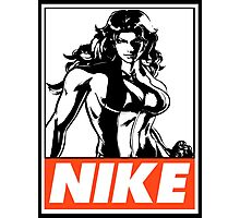 She-Hulk Nike Obey Design Photographic Print