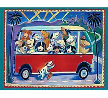 Dogs on Tour Photographic Print