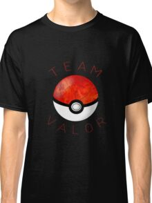 Team Valor- Pokeball Classic T-Shirt