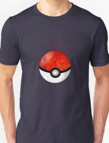 Team Valor- Pokeball Unisex T-Shirt