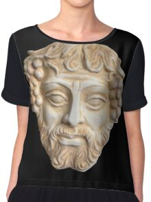 Dionysus, God of Wine Women's Chiffon Top
