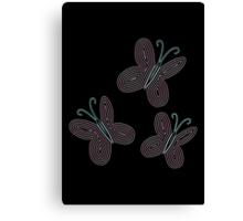 Ornate Fluttershy Cutie Mark Canvas Print